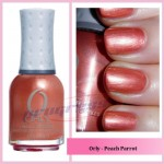 ORLY Peach Parrot