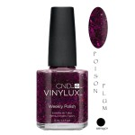 CND VINYLUX 15ML POISON PLUM