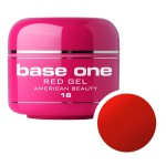 SILCARE GEL BASE ONE 5G RED 18 AMERICAN BEAUTY