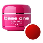 SILCARE GEL BASE ONE 5G RED 17 LADY IN RED