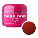 SILCARE GEL BASE ONE 5G RED 16 COFFEE RED