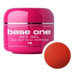 SILCARE GEL BASE ONE 5G RED 12 HOT CHILI PEPPERS