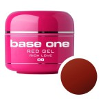 SILCARE GEL BASE ONE 5G RED 09 RICH LOVE