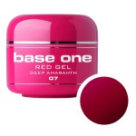 SILCARE GEL BASE ONE 5G RED 07 DEEP AMARANTH