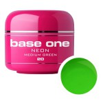 SILCARE GEL BASE ONE 5G NEON 20 MEDIUM GREEN