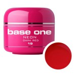 SILCARE GEL BASE ONE 5G NEON 19 DARK RED