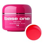 SILCARE GEL BASE ONE 5G NEON 18 RASPBERRY PINK