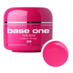 SILCARE GEL BASE ONE 5G NEON 03 LIGHT PINK