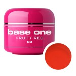 SILCARE GEL BASE ONE 5G COLOR 83 FRUITY RED