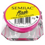 SEMILAC SEMIFLASH NEON EFFECT YELLOW 676