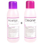 LALILL ACETON 100ML + CLEANER 100ML