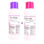 LALILL ACETON 500ML + CLEANER 500ML
