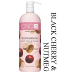 CND SCENTSATIONS 917ML BLACK CHERRY & NUTMEG