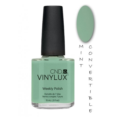 CND VINYLUX 15ML MINT COVERTIBLE SPRING 2014