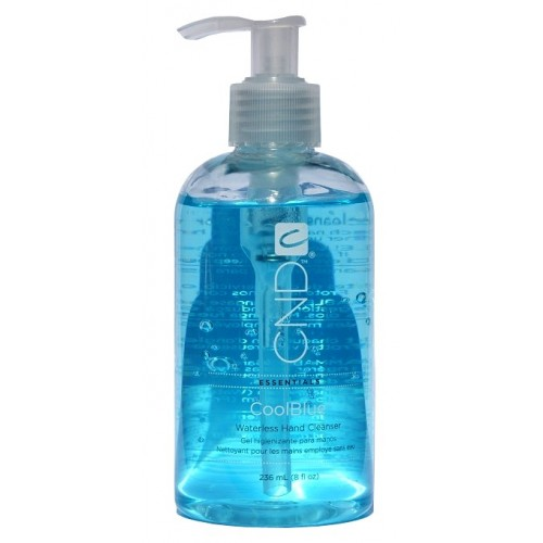 CND COOL BLUE 236ML WATERLESS HAND CLEANSER